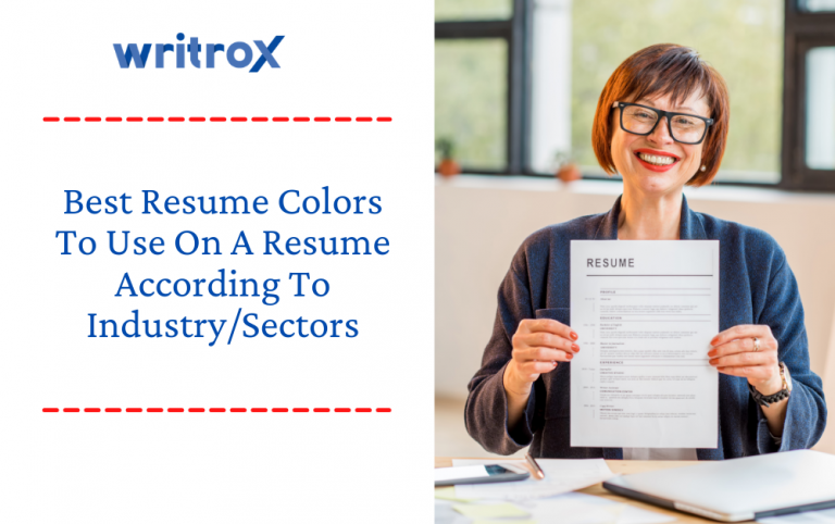 colorful resume