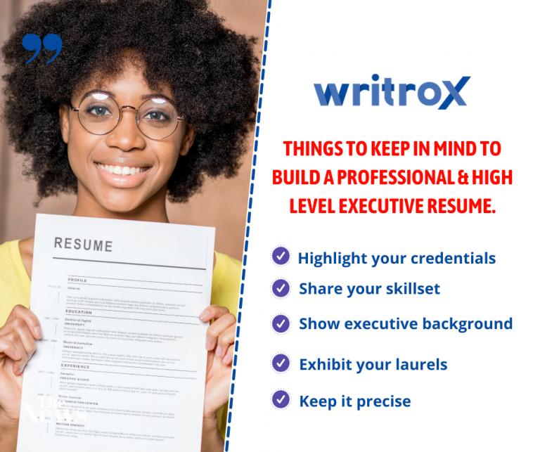 executive level resume