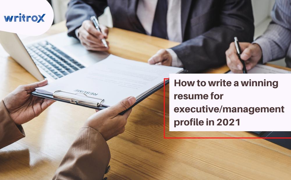 executive profile resume