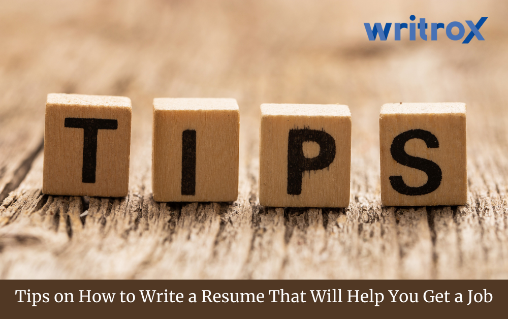 How to write resume for freshers